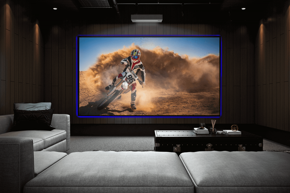 Reference 8k Ultra Short Throw NanoEdge Projection Screen